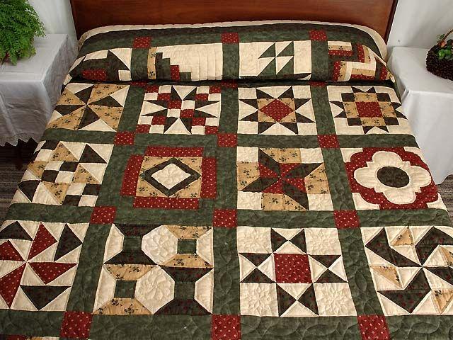 Sequoia Sampler Quilt Kit Sampler Quilts Quilts Wall Quilt Patterns