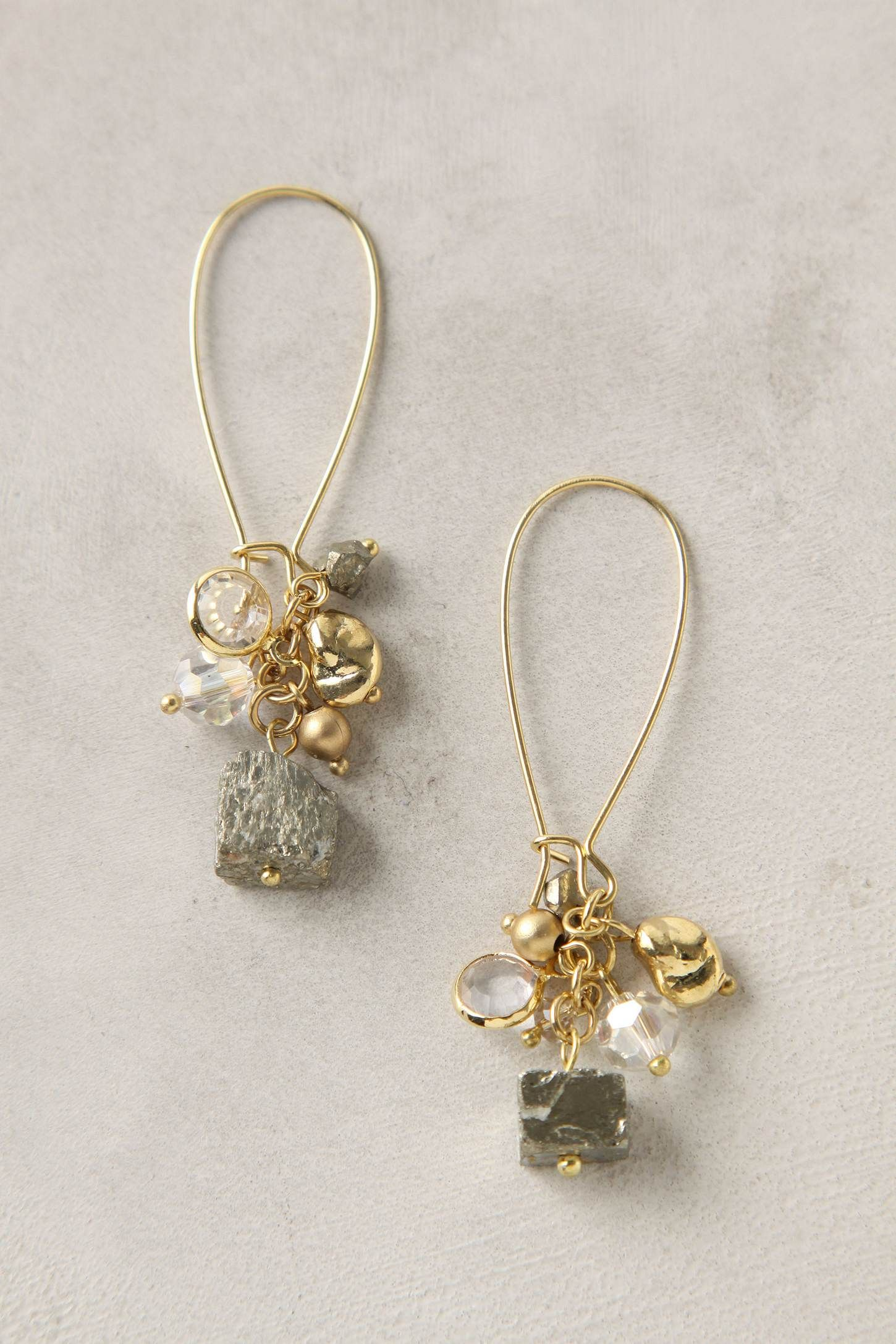 Pacific Shimmer Earrings from Anthropologie $28 I think I need these!