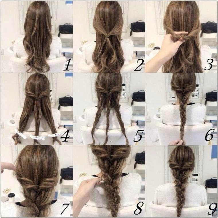 Haarfrisuren Einfachediy Dekoration Mittleres Anleitung Hair Hochsteckfrisuren Lange Haare Frisuren Lange Haare Anleitung Frisuren Lange Haare Geflochten