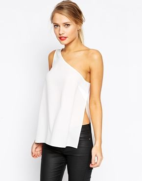 ASOS+One+Shoulder+Vest