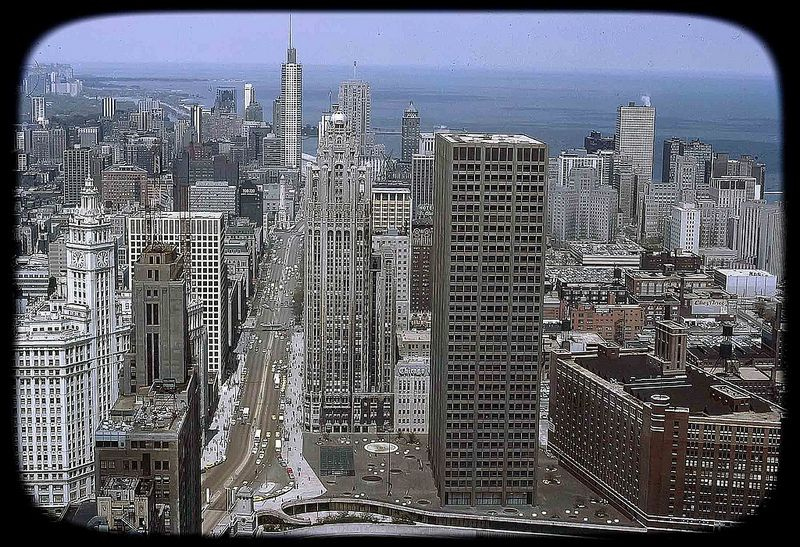 Chicago Illinois In 1967 Chicago History Chicago Building