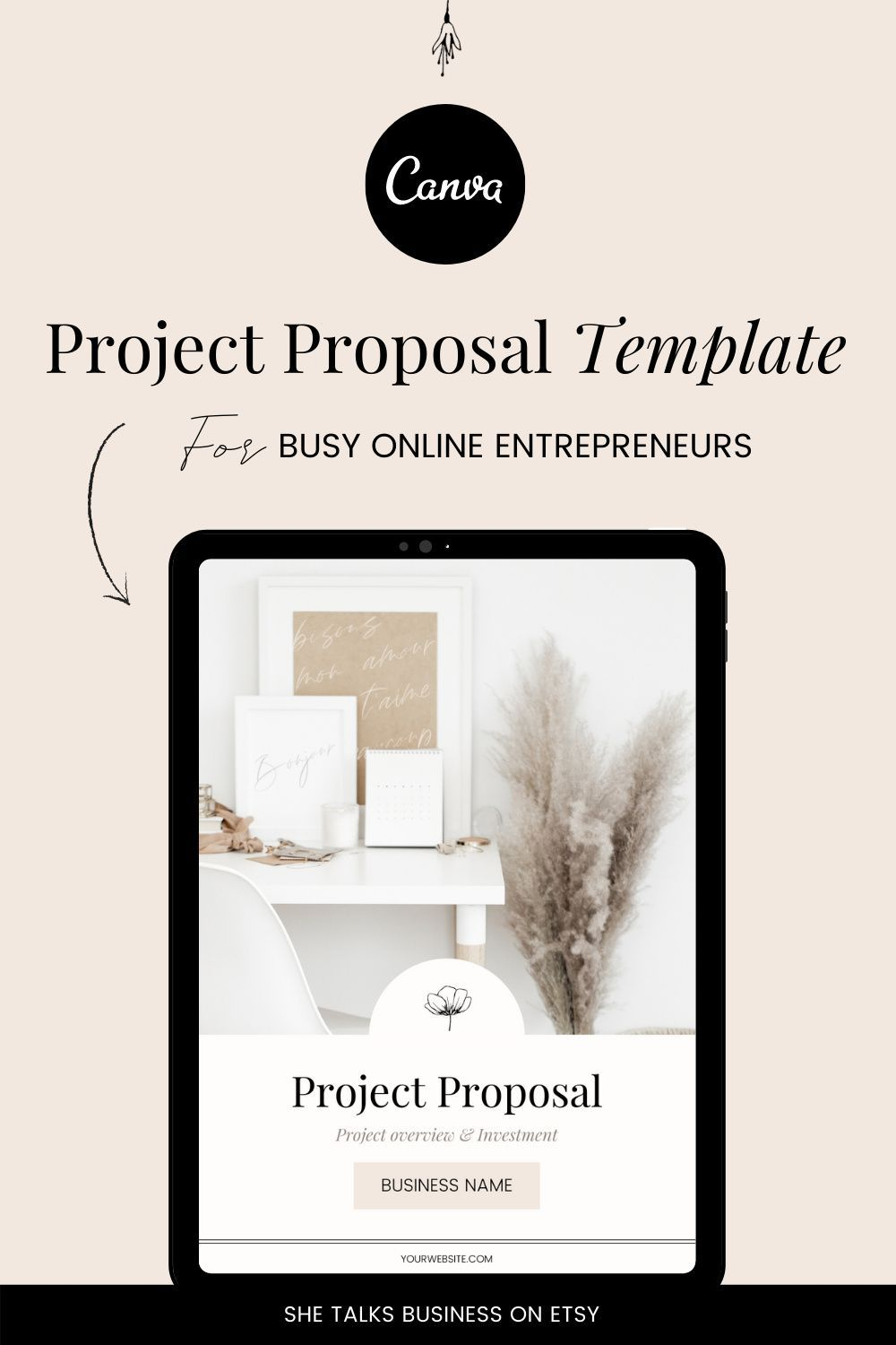 Project Proposal Template Project Proposal Canva Template Etsy Project Proposal Template Proposal Templates Project Proposal