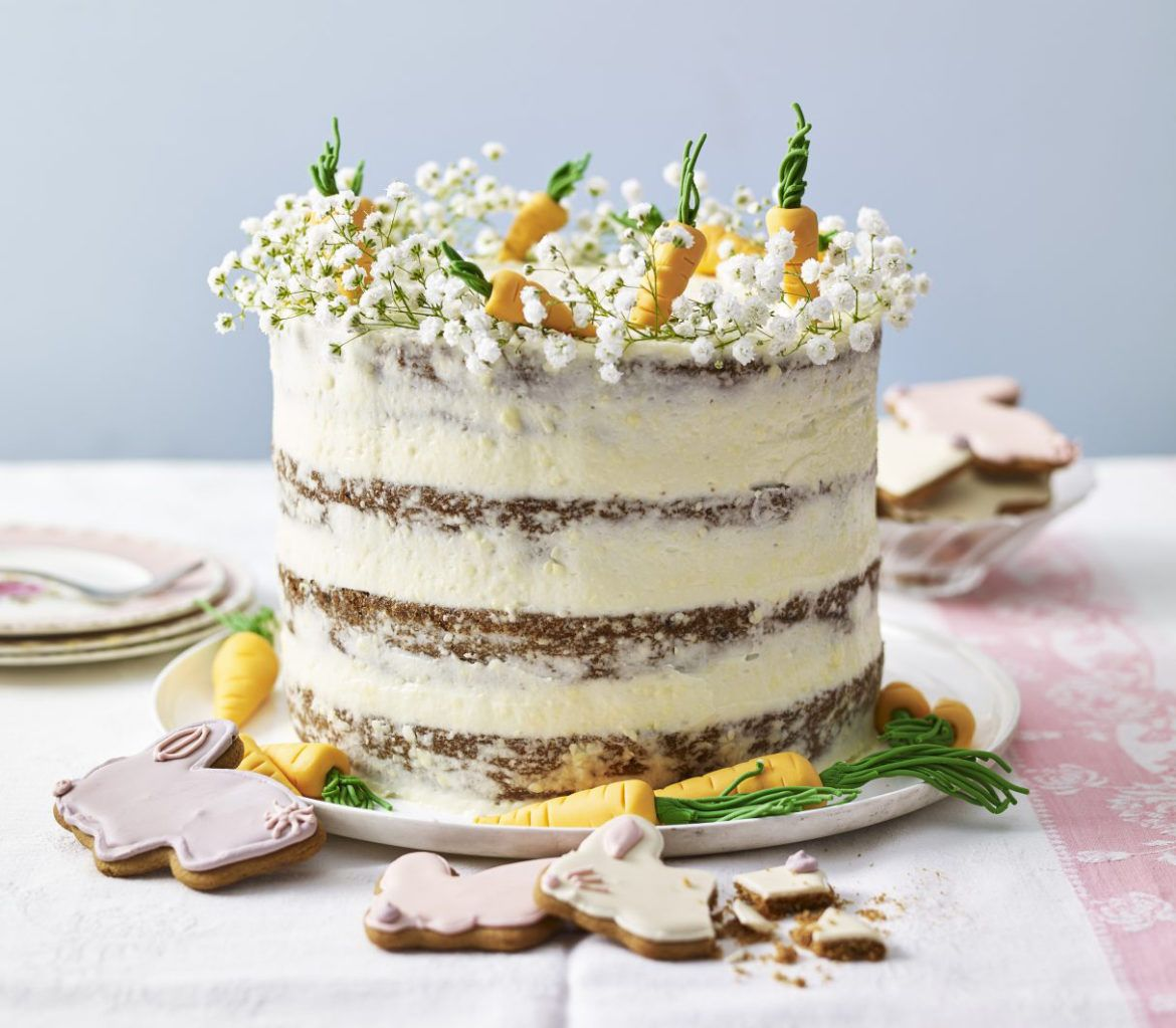 Easter carrot cake recipe with images easter carrot