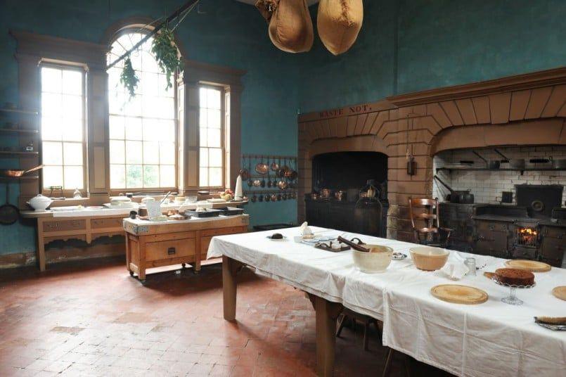 Erddig Wales  Victorian Kitchen  Pinterest  Wales Victorian Delectable Downton Abbey Kitchen Design 2018