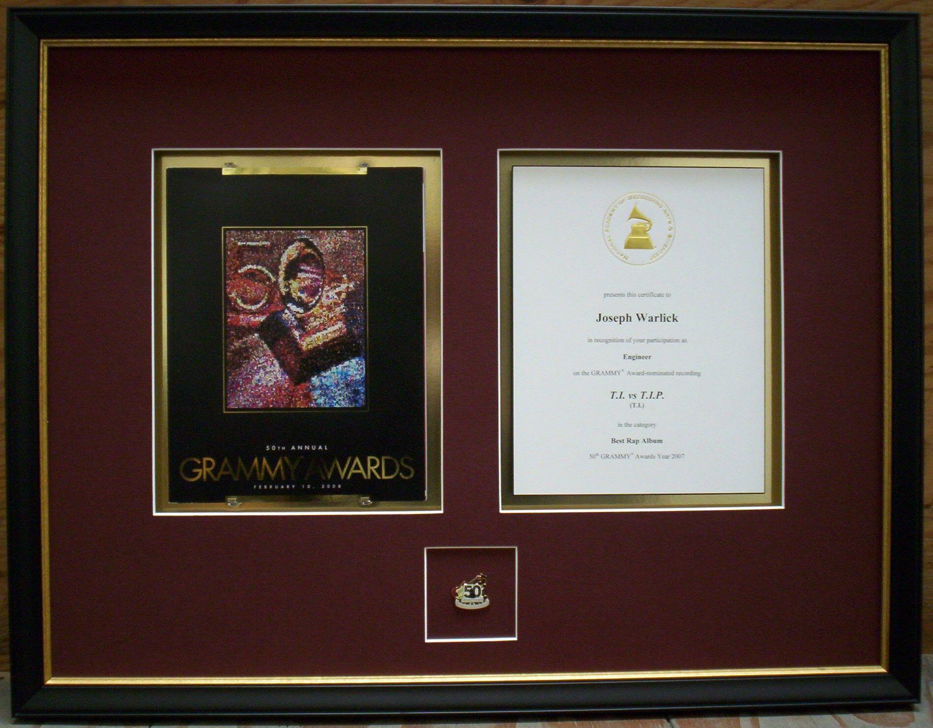 Fantastisch Grammy Bilderrahmen Bilder - Bilderrahmen Ideen - szurop ...