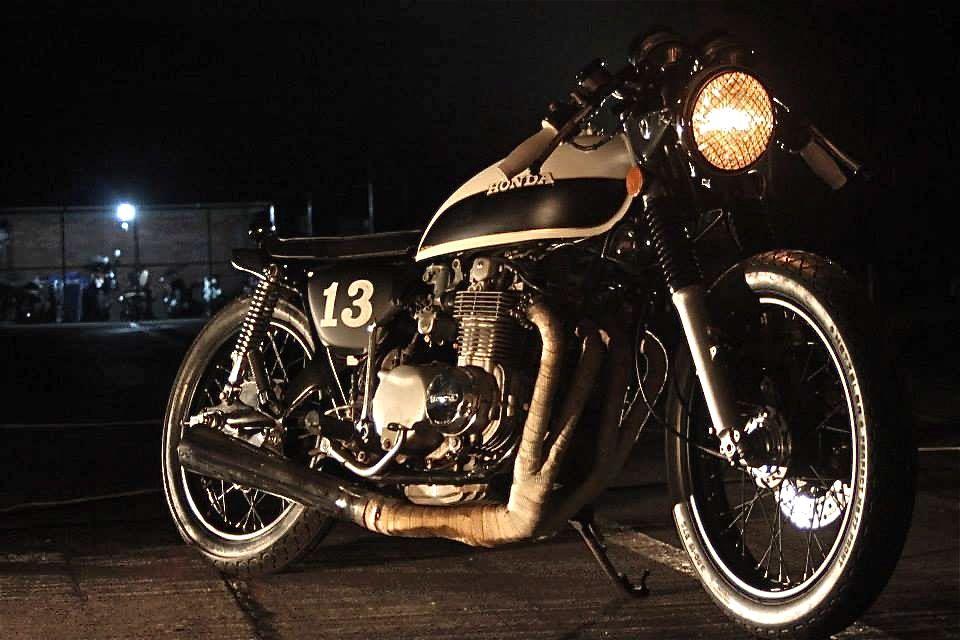 Honda CB750 - Soul Motor Co - Inazuma Cafe Racer