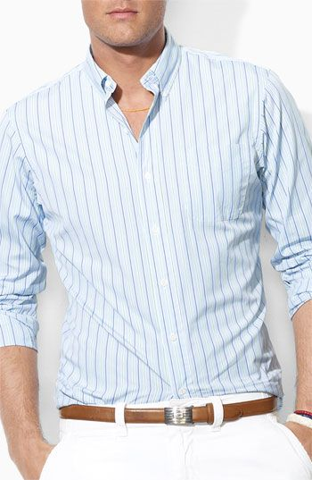 Polo Ralph Lauren Custom Fit Sport Shirt love everything about this one