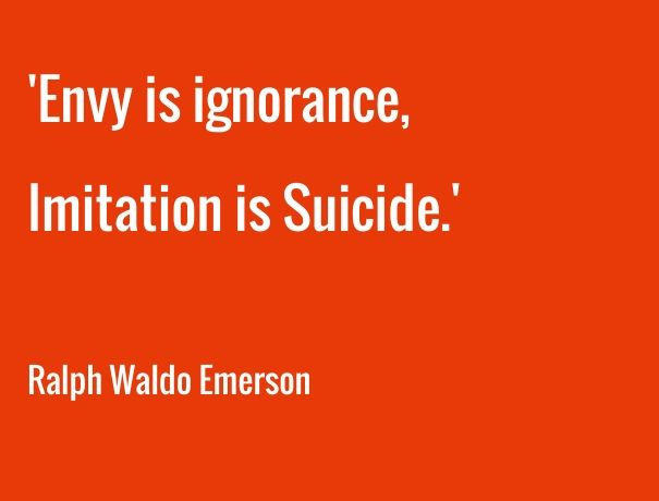 Image result for envy is ignorance