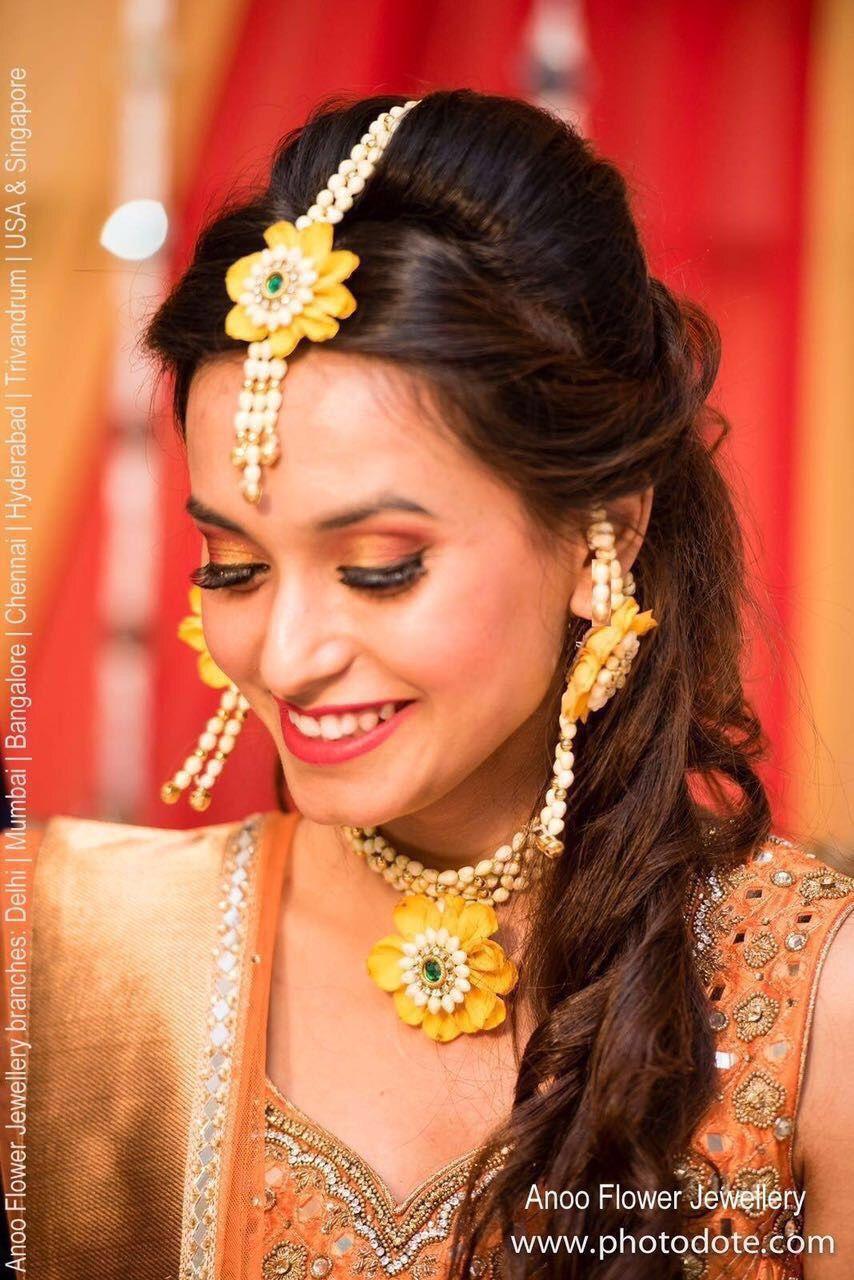 Beautiful Floral jewellery for mehendi, haldi ,sangeet or
