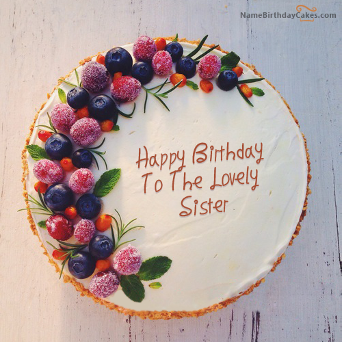 Birthday Cake Images For Sister Download Share Sis Gebi