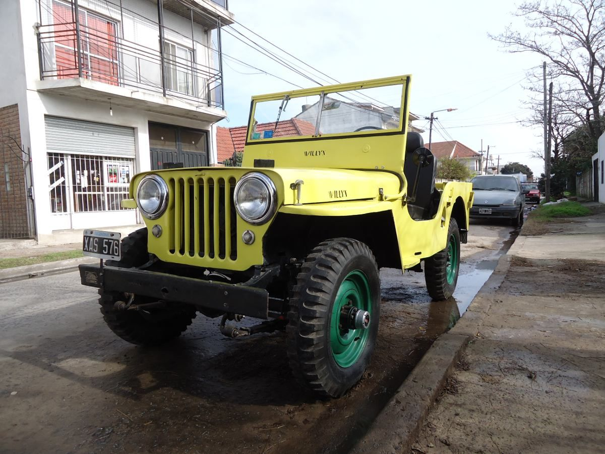 Jeep Willys 4x4 1947 Vendido Ano 1947 1111 Km En Mercado