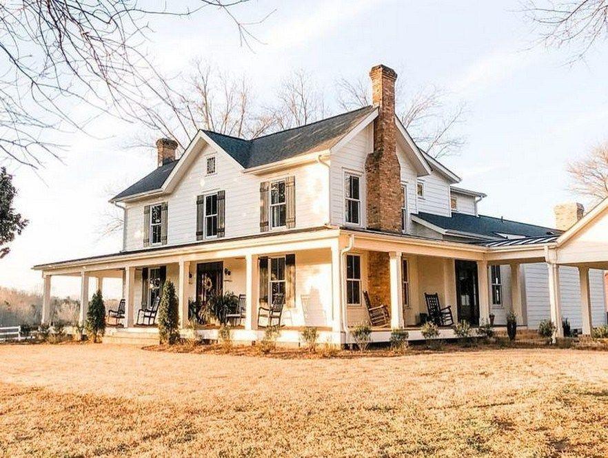 41 Best Farmhouse Design Ideas For 2019 39 Fieltro Net House Exterior House Farmhouse Exterior