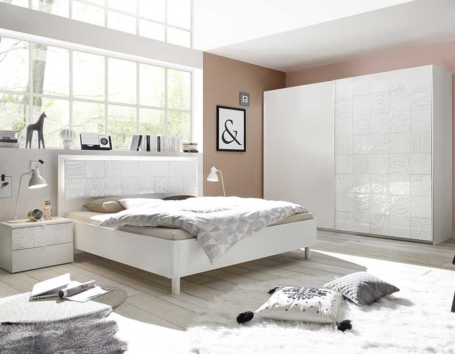 Chambre Complete Design Blanche Pour Adutle Hcommehome