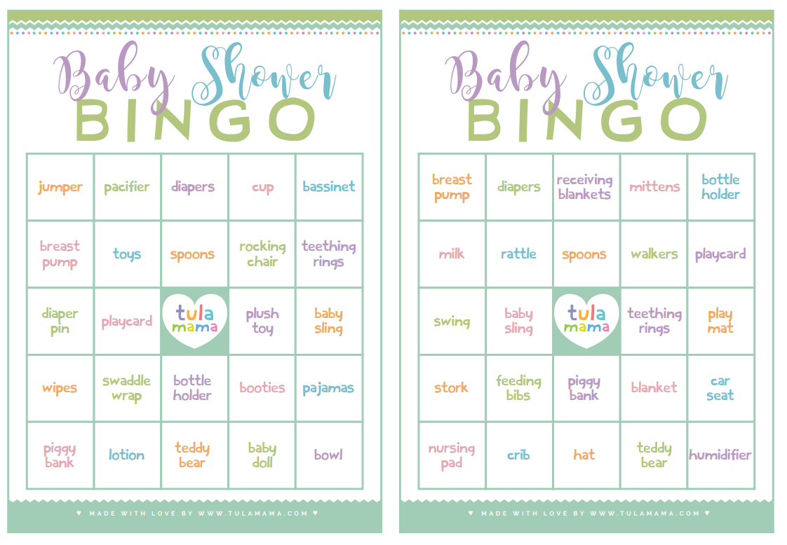 New Mom Approved Cute Amp Free Printable Baby Shower Games