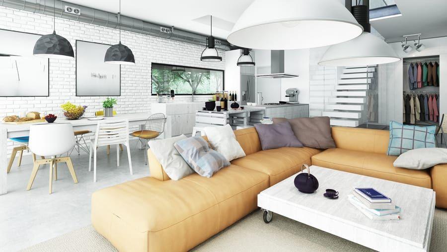 Moderne Wohnzimmer Bilder von Majchrzak Pracownia Projektowa - bilder wohnzimmer moderne gestaltung