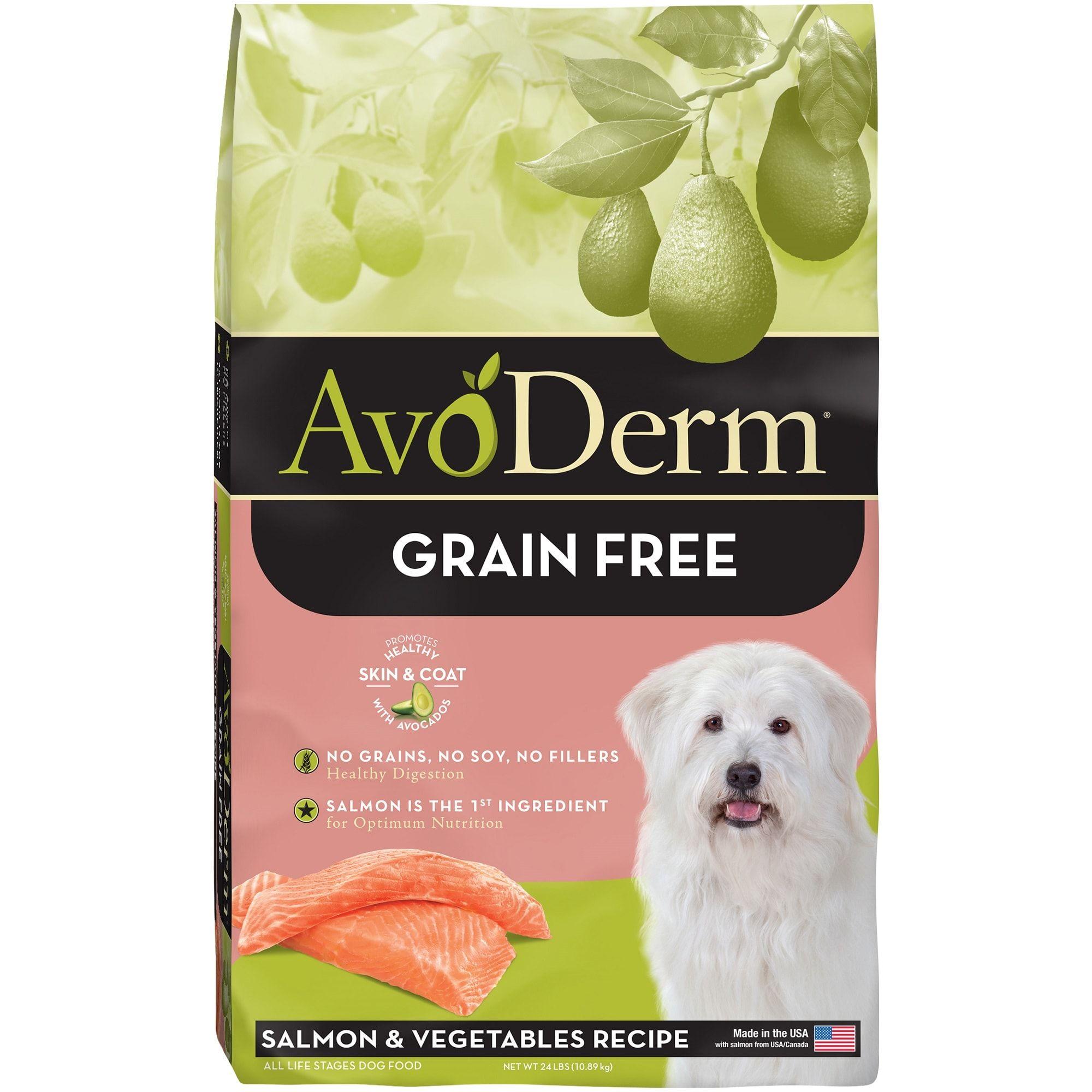 Avoderm Natural Grain Free Salmon Vegetables Formula Dry Dog