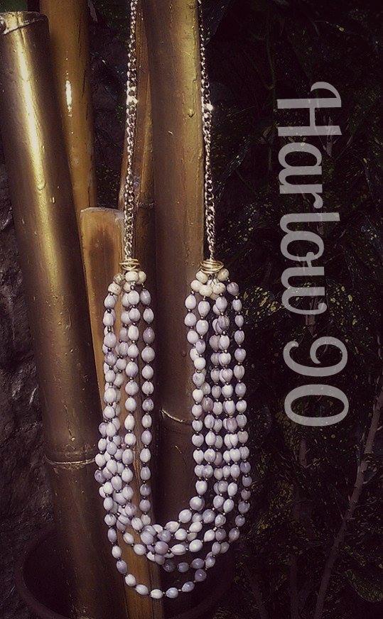 535d4bda2926 Collar de Lagrima de San Pedro. Diseño Totalmente artesanal.    EcoAccesoriosH90 .