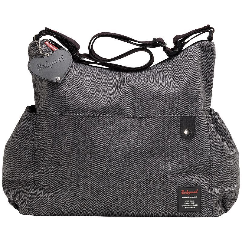 BabyMel Big Slouchy Tweed Changing Bag  £55