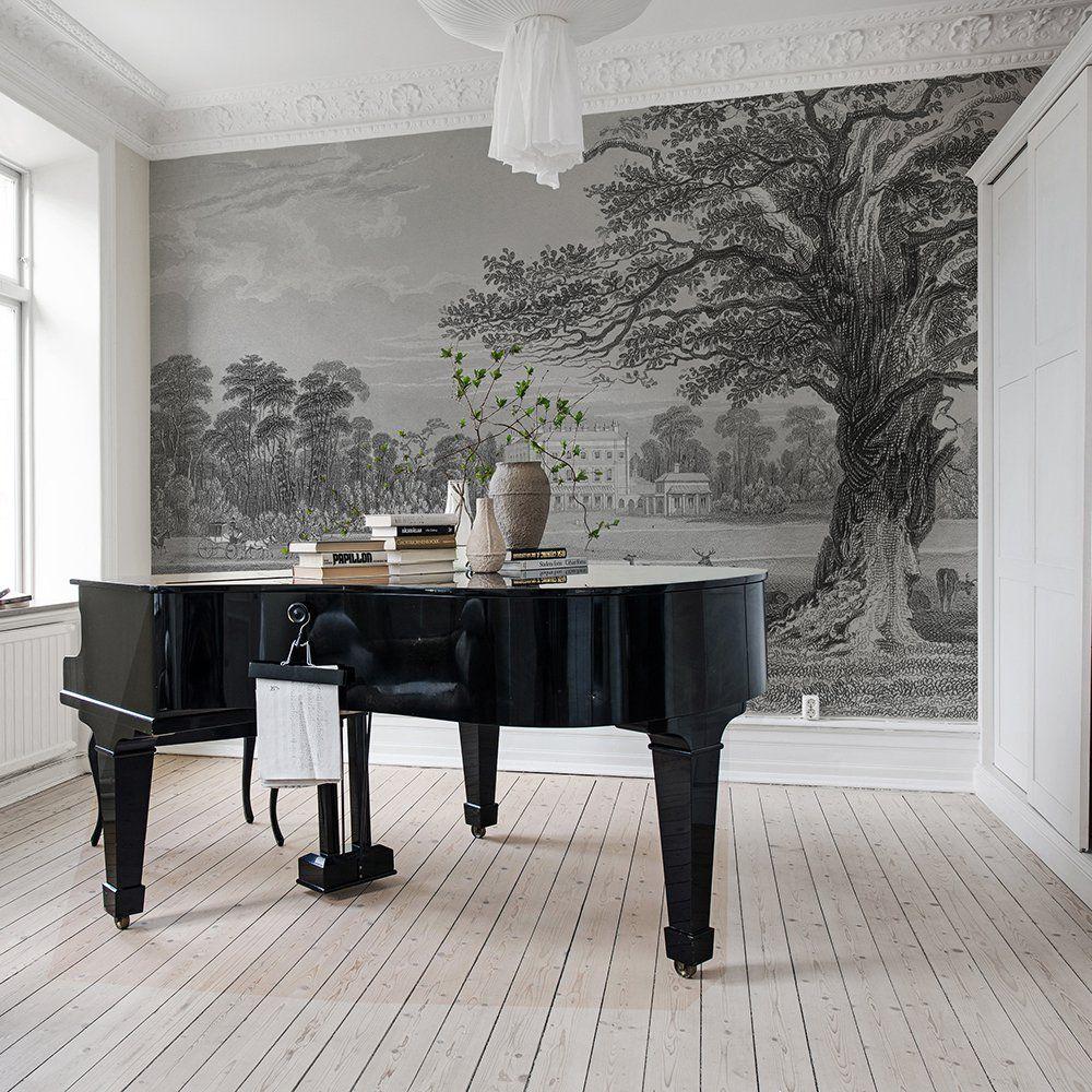 le papier peint panoramique c 39 est chic pianos. Black Bedroom Furniture Sets. Home Design Ideas
