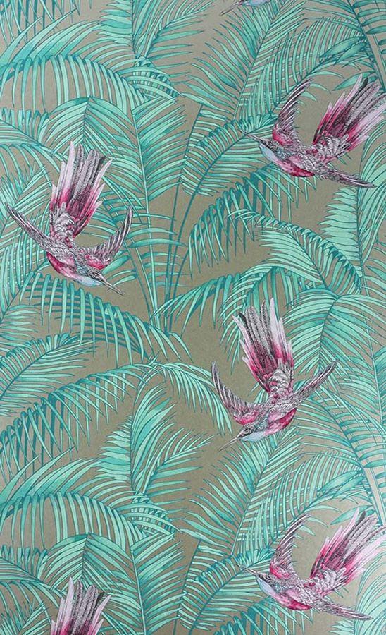 Papier Peint Sunbird Matthew Williamson