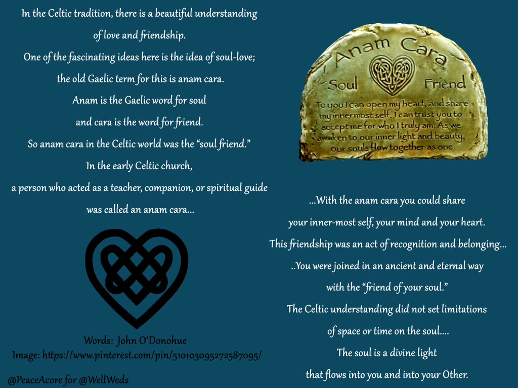 .@jenniferbeals Beautiful about Anam Cara + the Essence of True #Friendship http://buff.ly/1JHa04B #Celtic #Wisdom ~K