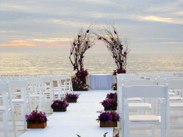 Beach ceremony ideas beach ceremony aisle markers and weddings formal romantic brown burgundy white aisle markers altararch arrangements country club outdoor ceremony summer junglespirit Gallery