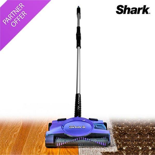 Shark Cordless Rechargeable Dual-Speed Floor & Carpet Sweeper