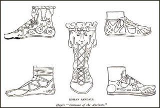 Sandálias Romanas - Gladiadores