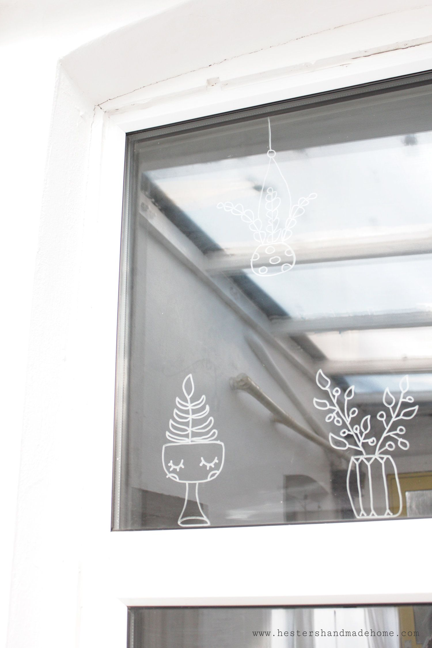 Window decoration for kindergarten  feb  decorate your windows with chalk markers  window decorating
