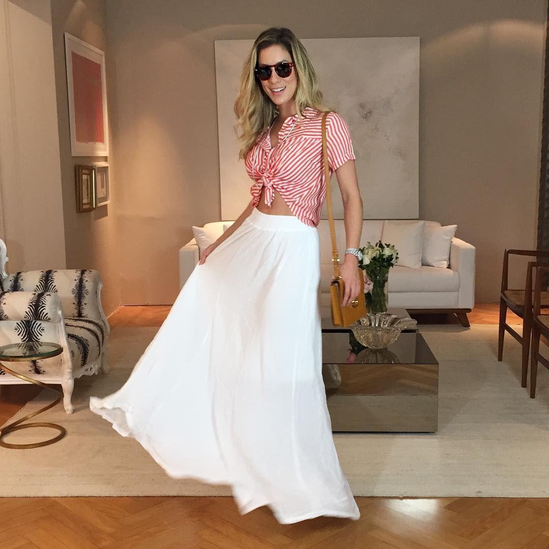 """Amei esse look! Blusa e saia @erreerreoficial  O look completo está no blog! #meulookerreerre"""