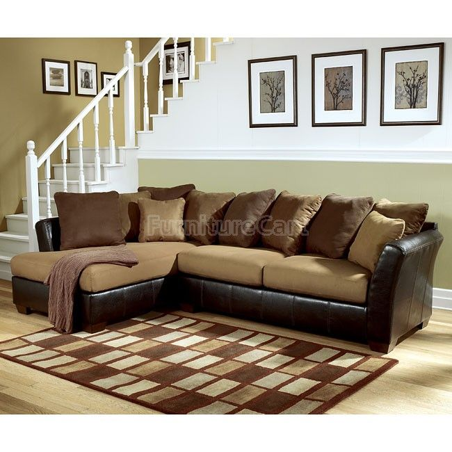 Lawson - Saddle Left Facing Chaise Sectional  chaise=80' sofa=39'