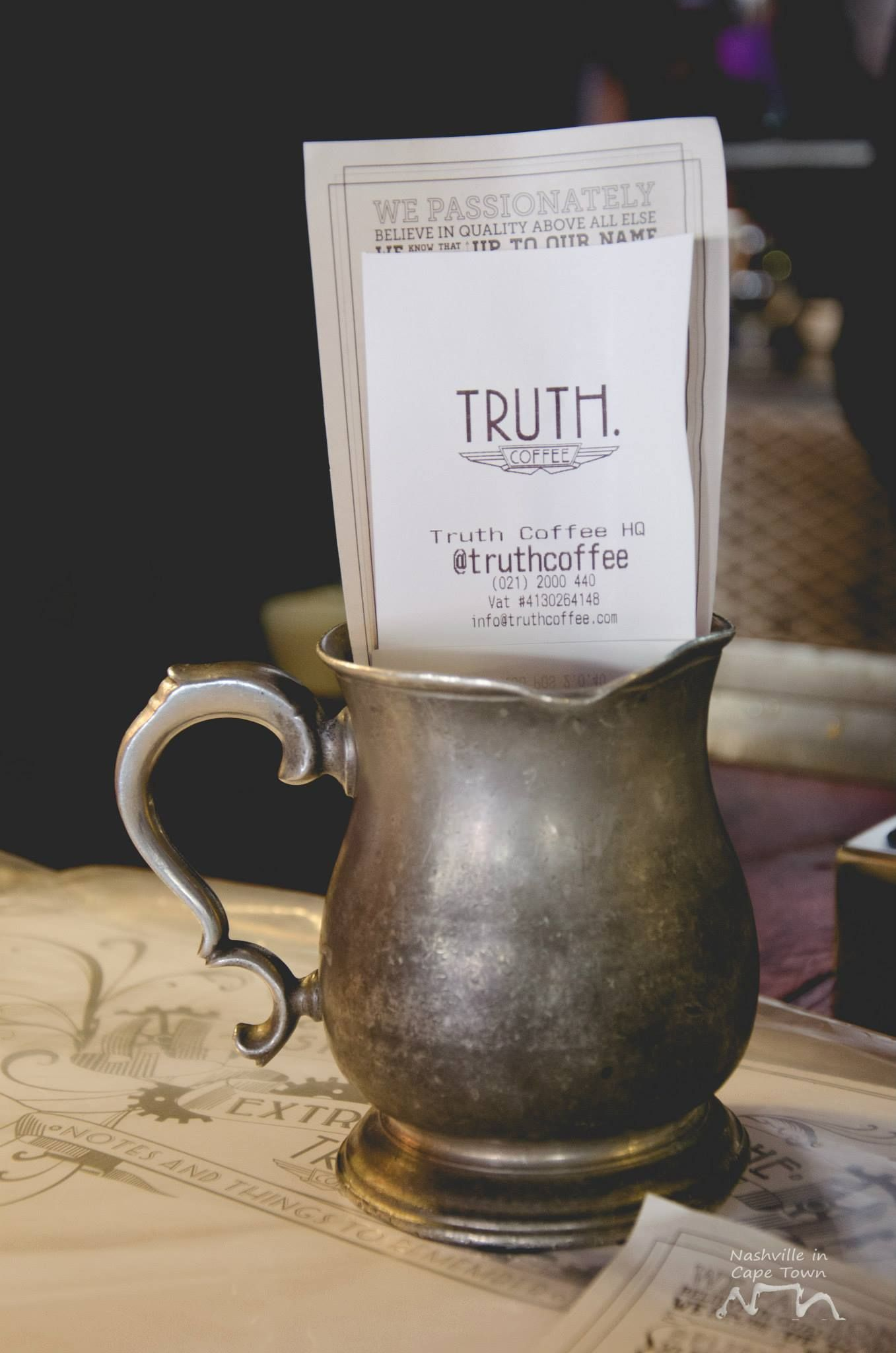 TRUTH coffee roasting