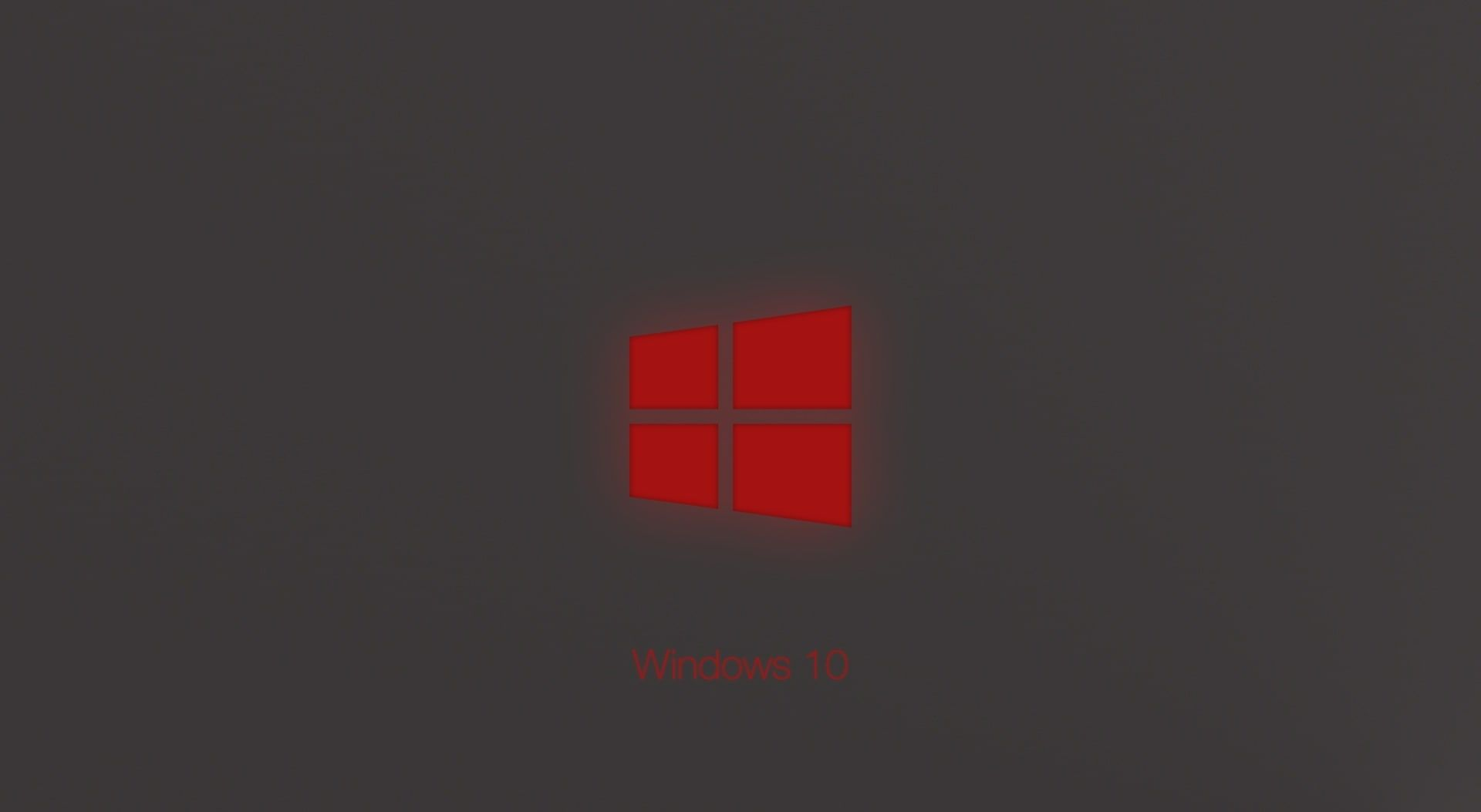 Windows 10 Technical Preview Red Glow Red Windows Logo Wallpaper Windows Windows 10 1080p Wallpaper Hdwallpaper Deskto Red Windows Hd Wallpaper Wallpaper