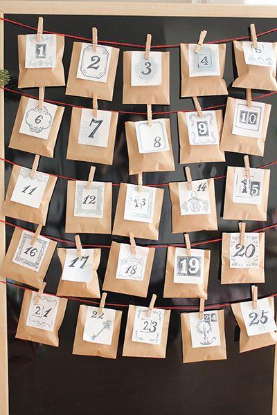 手作り カウントダウン カレンダー スタイル色々カウントダウンカレンダー2022無料ダウンロード