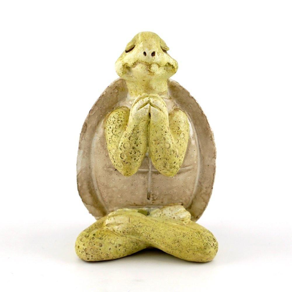 Top collection miniature fairy garden u terrarium yoga turtle in