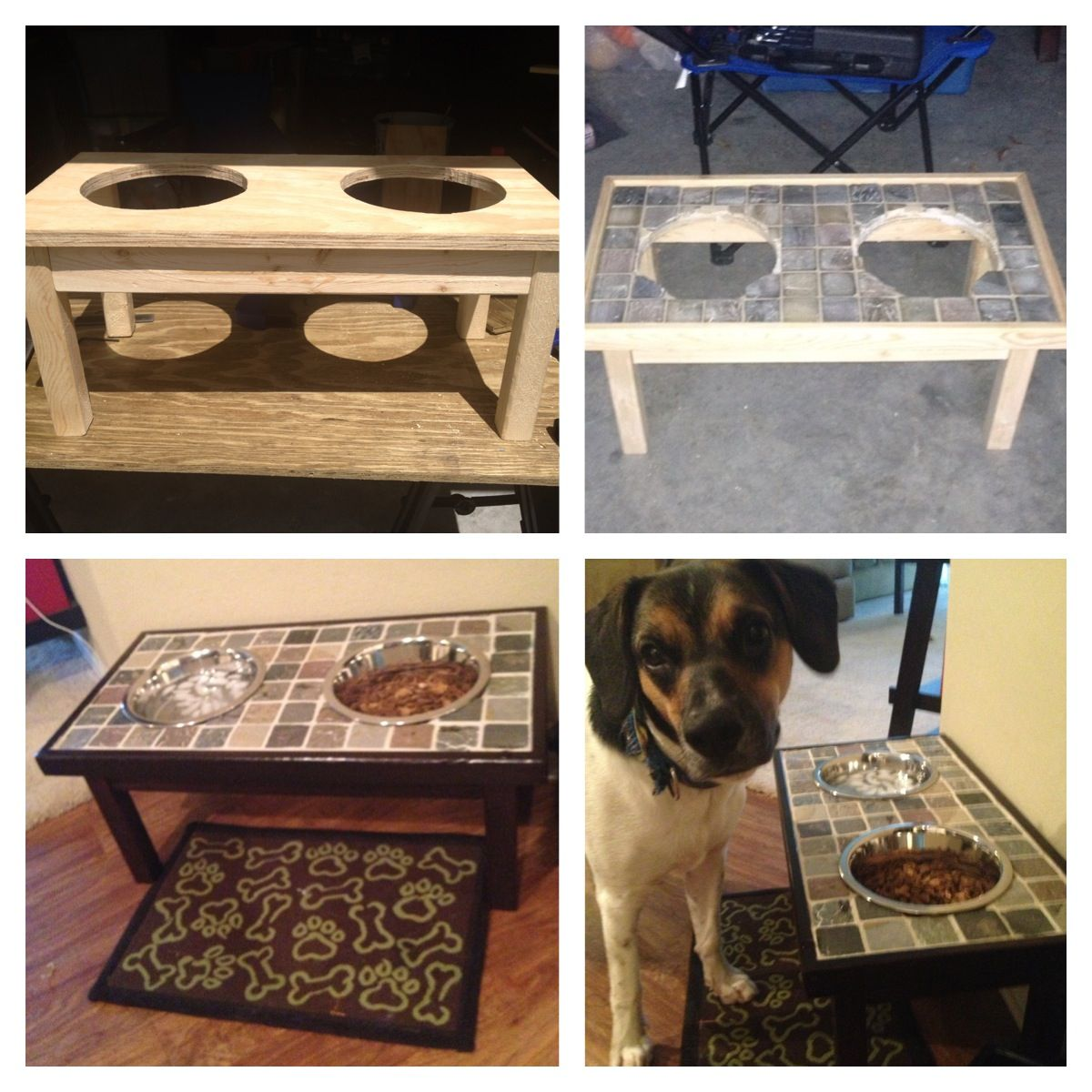 Diy Raised Dog Bowl Stand This Just Might Be Kilo's Christmas Gift This  Year :