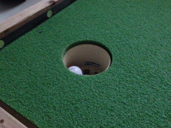 How to build an indoor putting green 7 | SPORT | Pinterest ...
