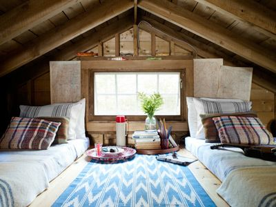 Lake House Decorating Ideas From A New Hampshire Cabin Small Lake Houses House Loft Spaces