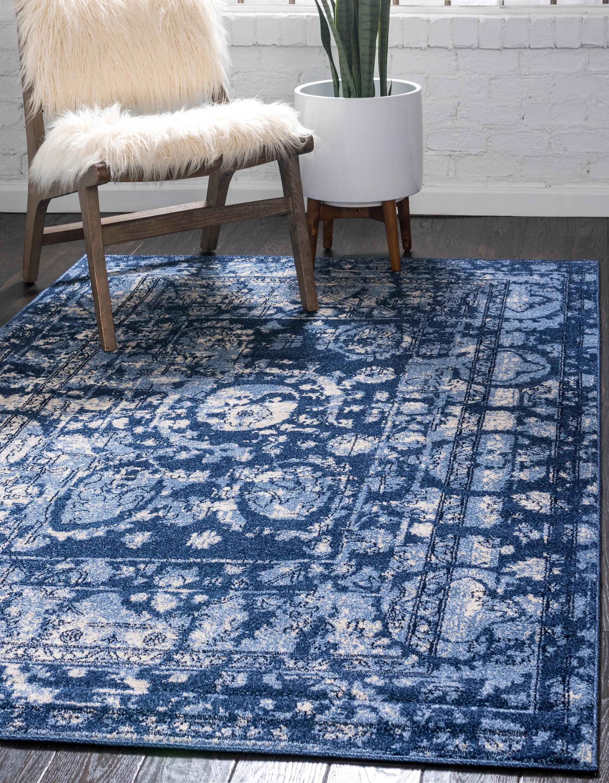 Blue 6 X 9 Vista Rug Area Rugs Esalerugs Unique Loom
