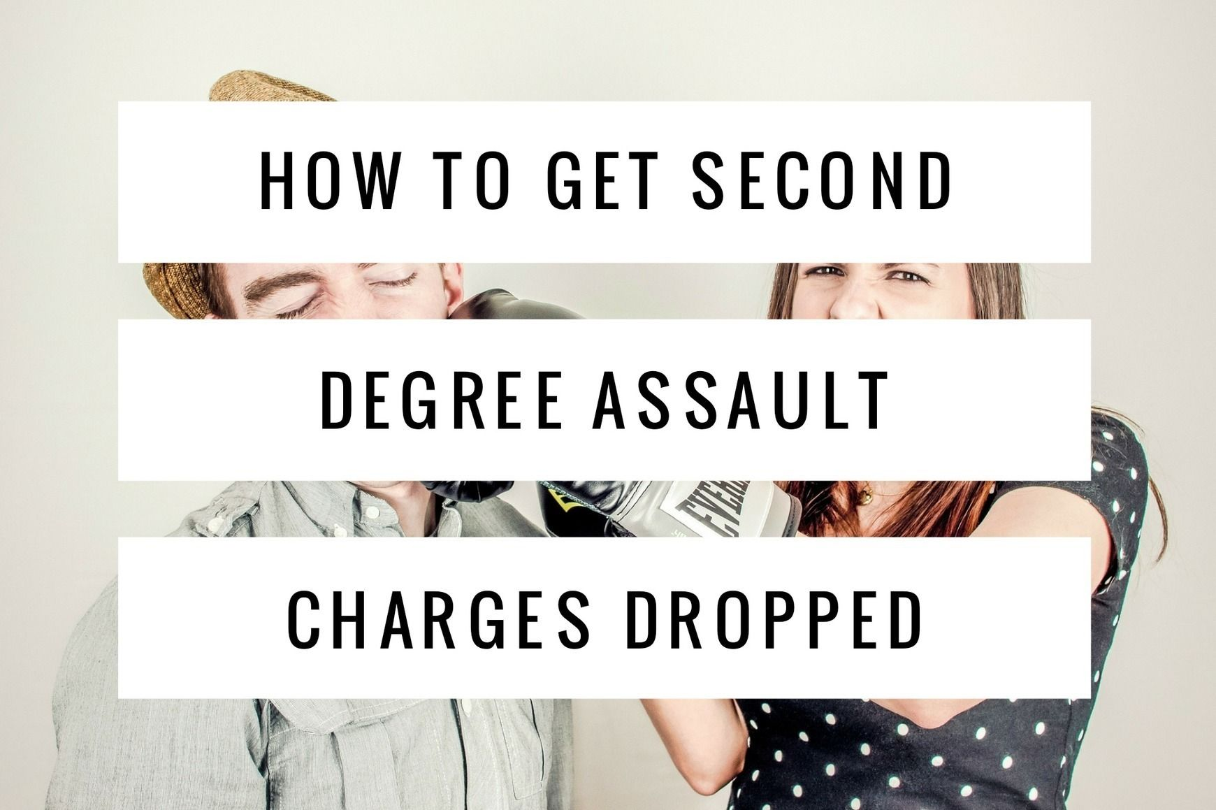 Unfortunately It Is Very Difficult To Get Second Degree Assault