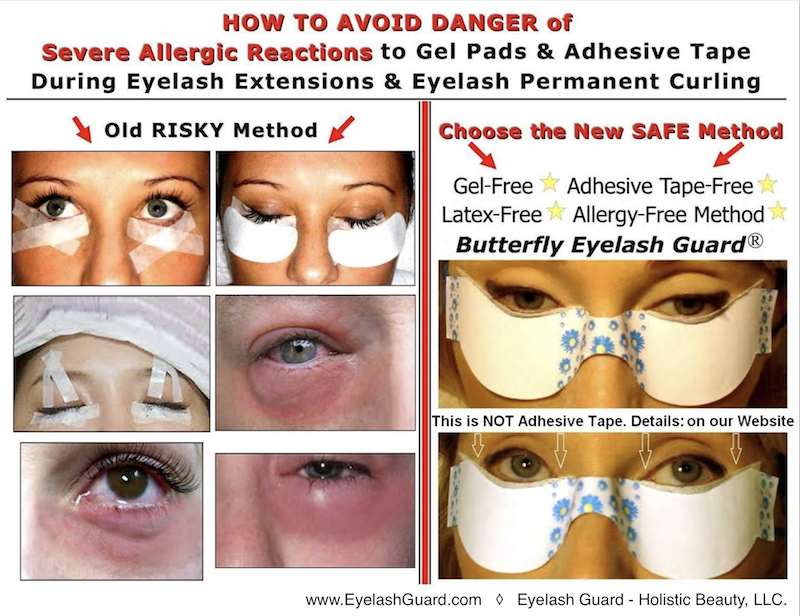 Butterfly Eyelash Guard Eyelash Extensions Perms Tinting Lashes