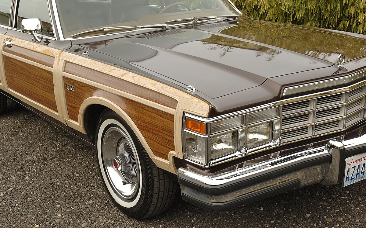 17k Mile 1978 Chrysler Lebaron Town Country With Images