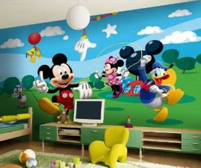 Mickey Mouse Wall Mural! Part 10