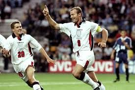Michael Owen & Alan Shearer England