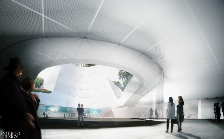 Morphosis Reveals The Design For Korean American National Museum In Los Angeles Morphosis Architects Los Angeles Museum National Museum