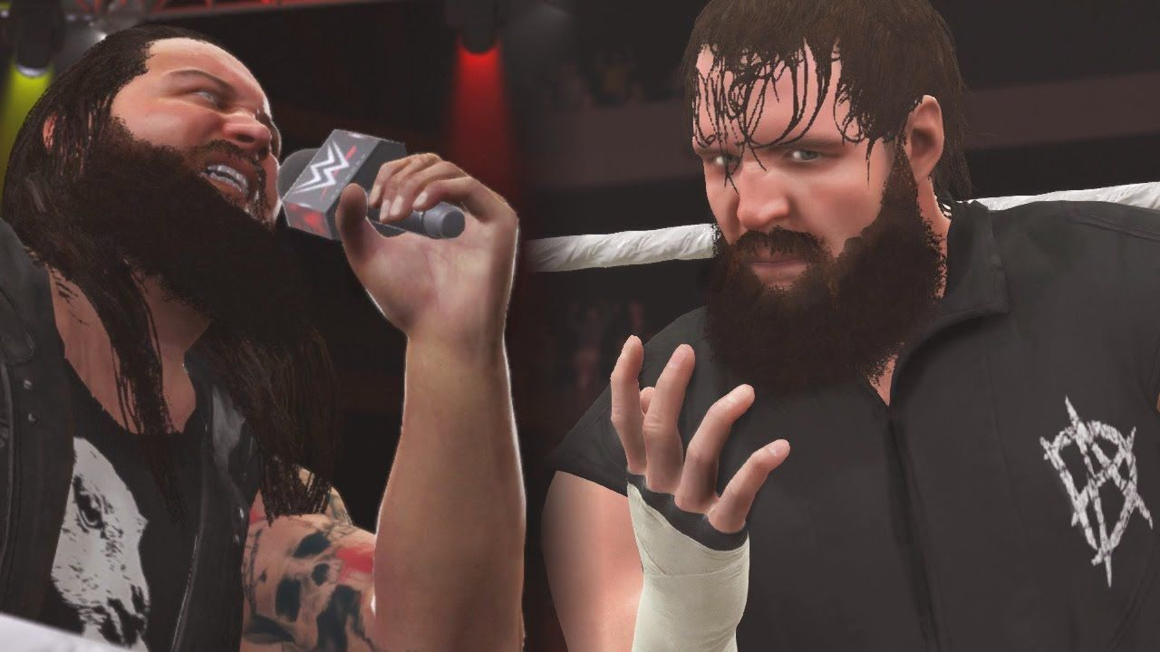 WWE 2K16 Mods - Dean Ambrose Joins the Wyatt Family & Turns
