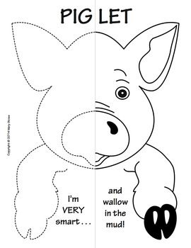 Farm Animals Symmetry Activity Coloring Pages