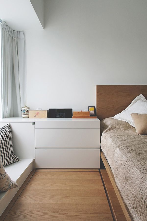 Tiny Hong Kong Apartment Featuring A Very Creative And Functional Interior Design Bedroom Interior Interior