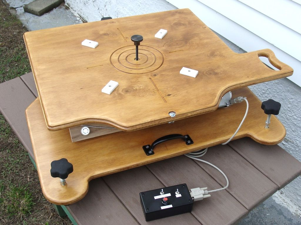 Motorized Equatorial Platform for Dobsonian Telescopes.    The instructions and hardware kit is by T L SYSTEMS and the design is by Tai Chi John.  #Astronomy #Telescopes #Dobsonian