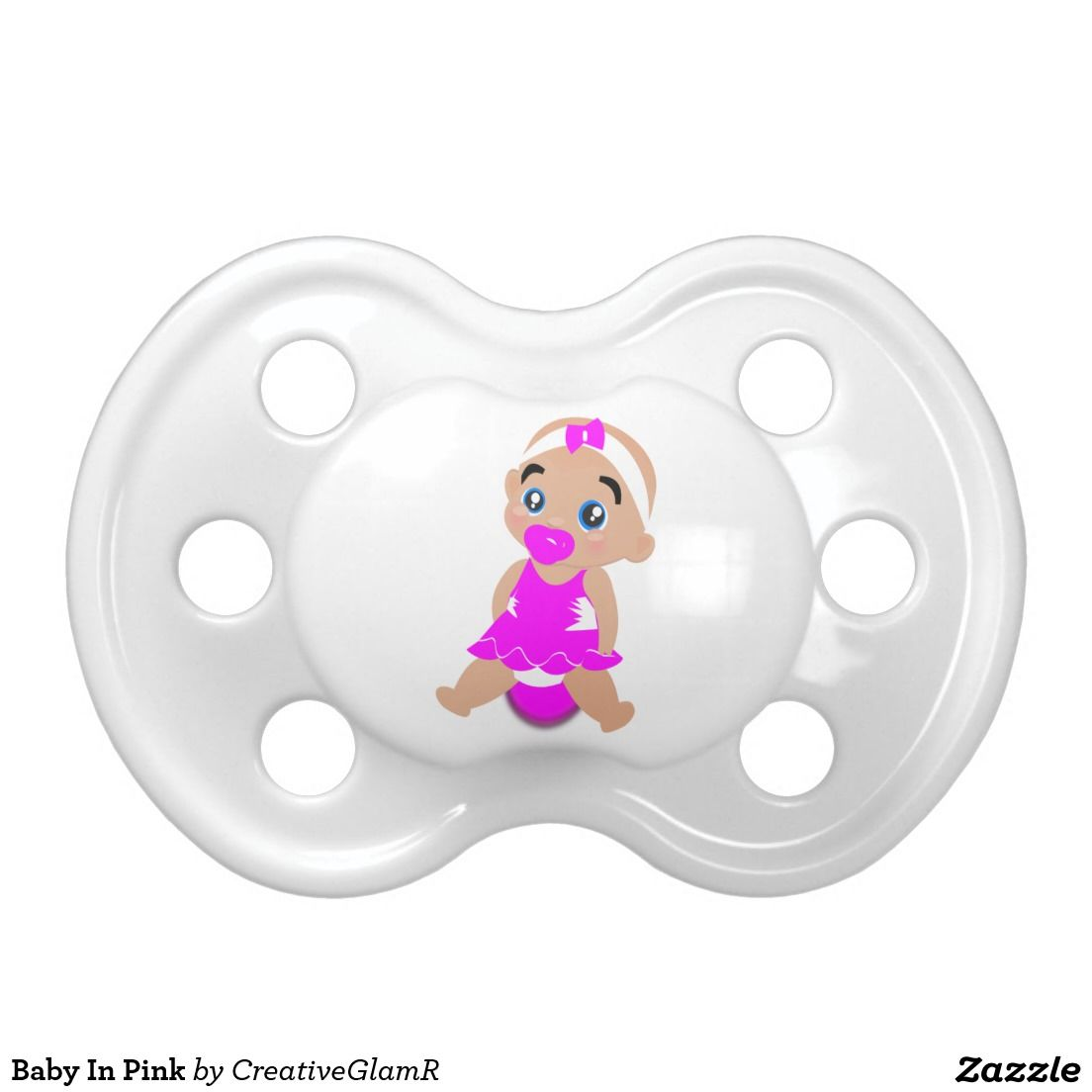 Baby In Pink BooginHead Pacifier